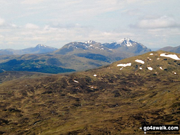 Beinn Challum from the summit of Sgiath Chuil