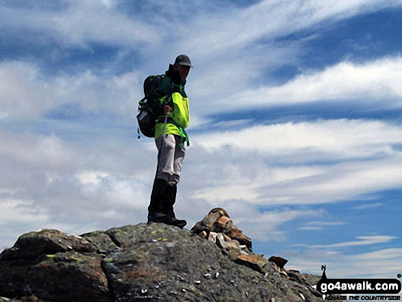 On the summit of Sgiath Chuil