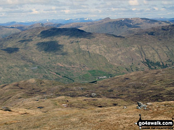 Glen Lochay from Meall a' Churain