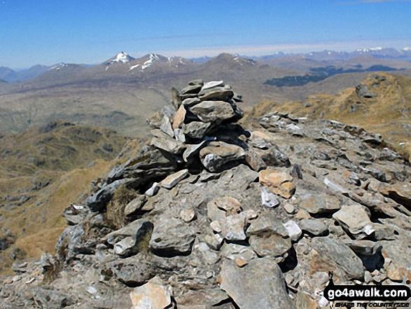 Beinn Chabhair summit cairn