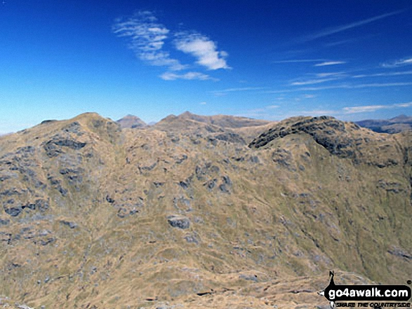 An Caisteal (Glen Falloch) (left) and Beinn a