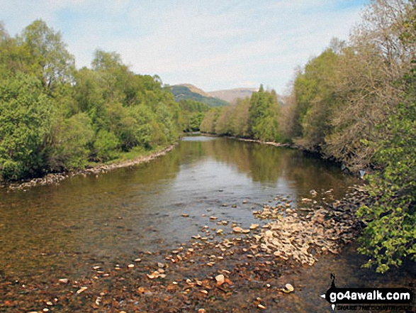 River Fallan near Kirkton Farm near Crainlarich