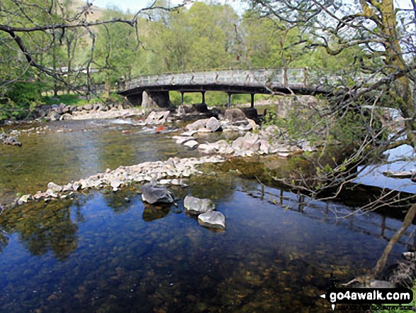 Bridge over the River Fallan near Kirkton Farm near Crainlarich