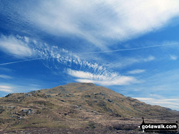 Unusual cloud formations above Beinn Challum