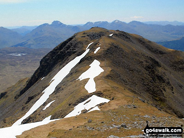 Beinn Challum (South Top) from Beinn Challum