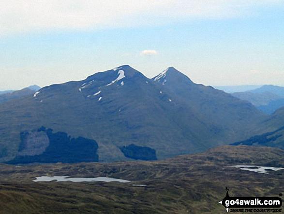 Ben More and Stob Binnein from Beinn Challum summit