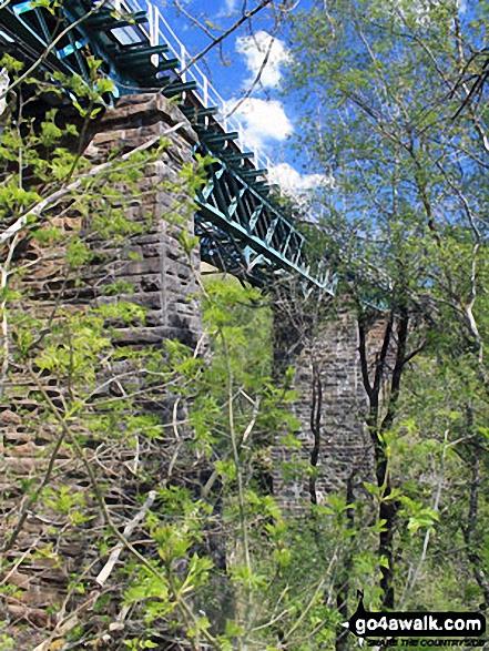 Railway Bridge over Allt Gleann a' Chlachain north of  Auchtertyre