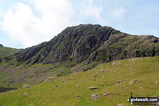 Pavey Ark from Stickle Tarn