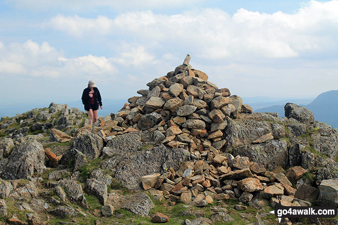 Harrison Stickle summit cairn