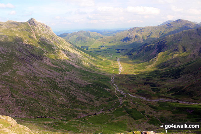 Great Langdale from Black Crags (Langdale)