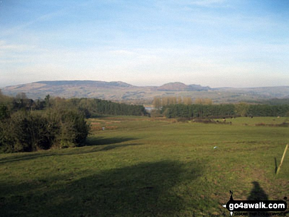 The Roaches and Hen Cloud from the summit of Hillswood