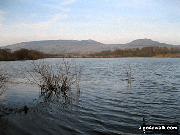 The Roaches and Hen Cloud from Tittesworth Reservoir