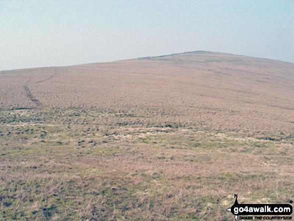 Renwick Fell (Thack Moor) from Watch Hill (Graystone Edge)