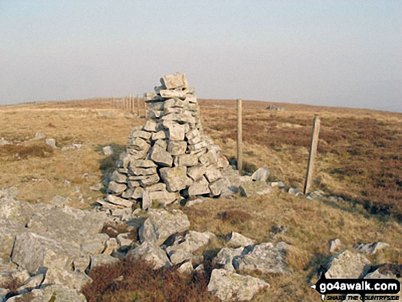 Benty Hill summit cairn