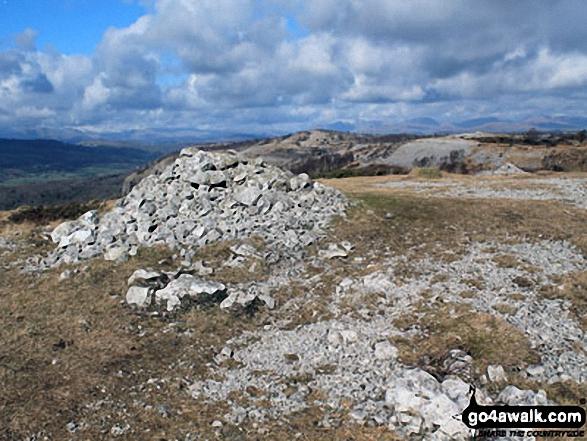 Large Cairn on Whitbarrow Scar