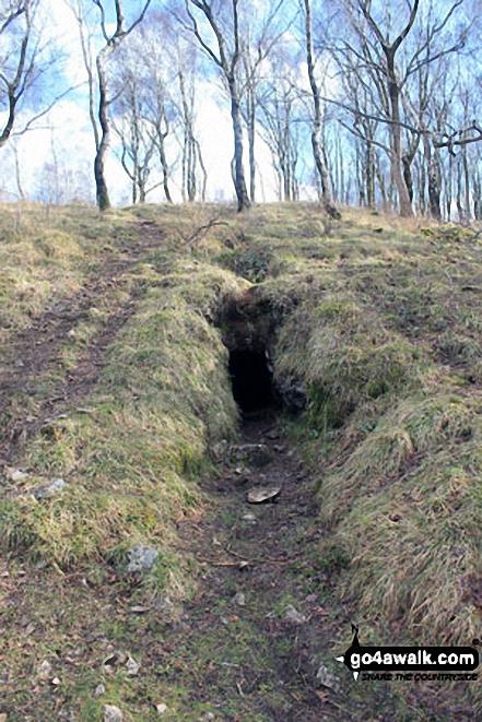 Cave entrance near Bell Rake, Whitbarrow Scar