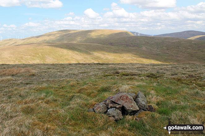 Moorbrock Hill (North Top) summit cairn