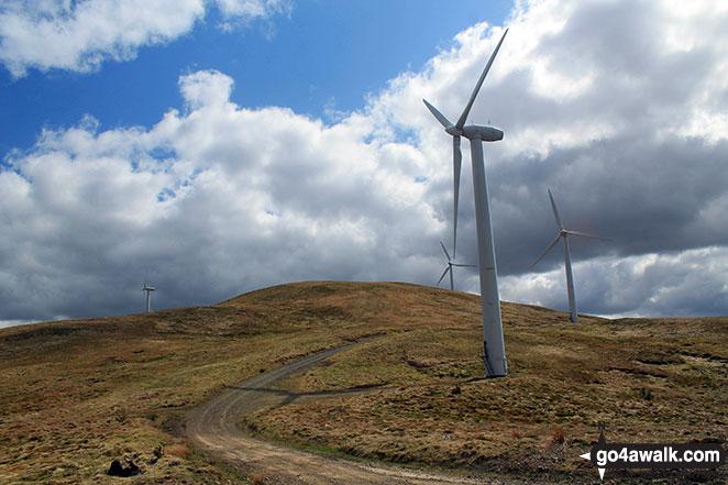 On Windy Standard wind farm