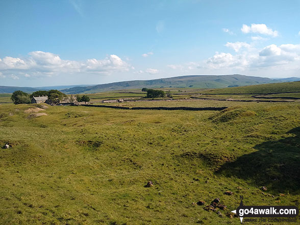 Grassington Moor from Yarnbury