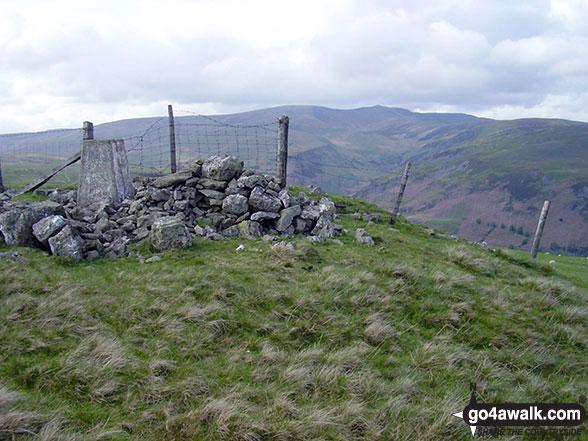 Walk Glan Hafon (Y Garn) walking UK Mountains in The Berwyns Snowdonia National Park*<br> Powys    Wales
