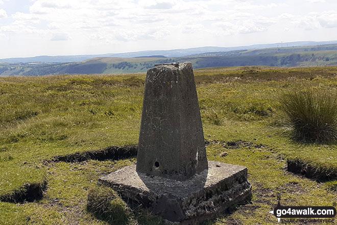 Walk Mynydd Carn-y-cefn walking UK Mountains in The South Wales area  Blaenau Gwent    Wales