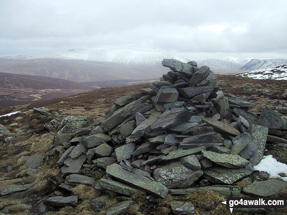 Bakestall summit cairn