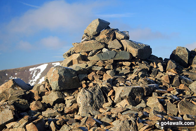 Dove Crag summit cairn