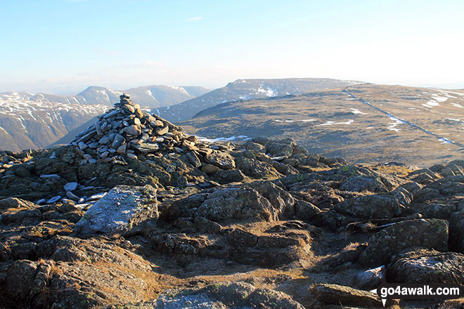 Hart Crag summit cairn