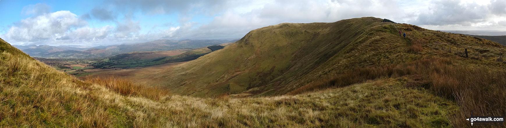 Waun-oerd from Mynydd Ceiswyn