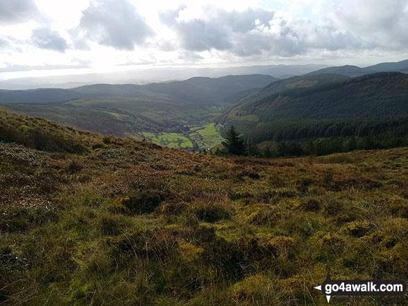 Cwm Ratgoed from Mynydd Ceiswyn