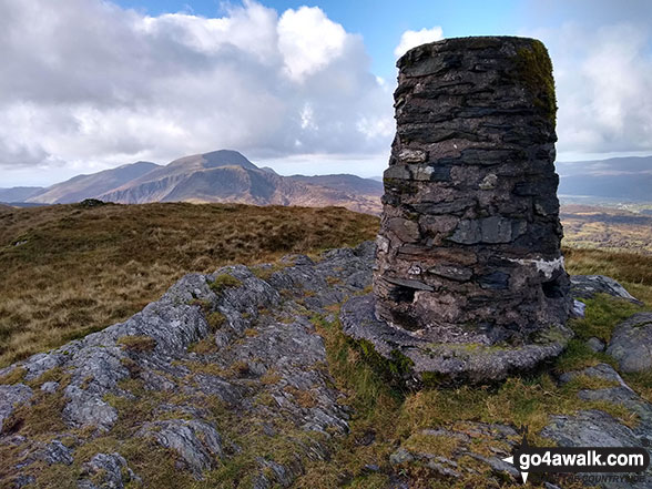 Walk Waun-oer walking UK Mountains in The Cadair Idris Area Snowdonia National Park Gwynedd    Wales