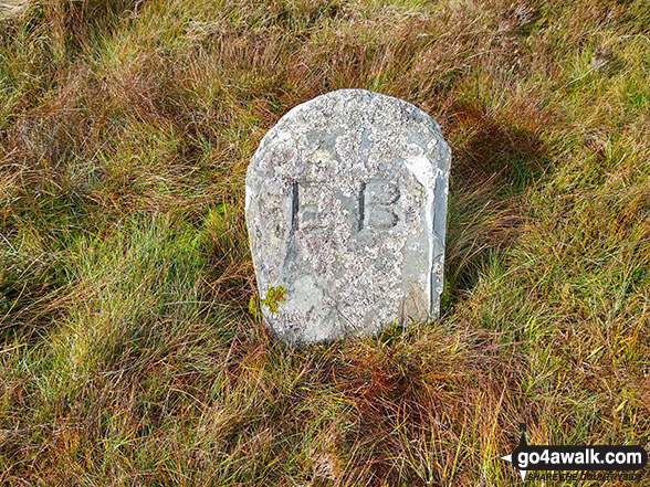 Another boundary stone on Craig Portas