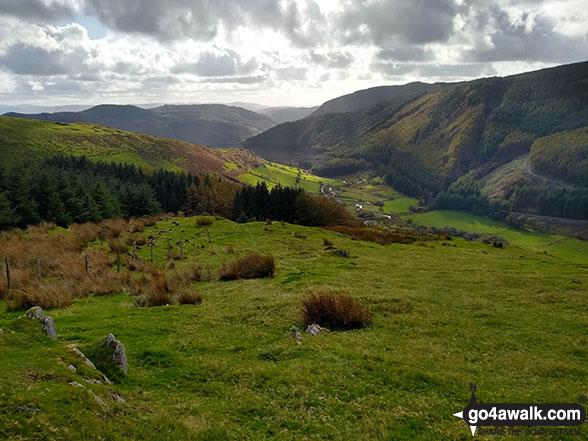 Cwm Ratgoed from Mynydd Dolgoed