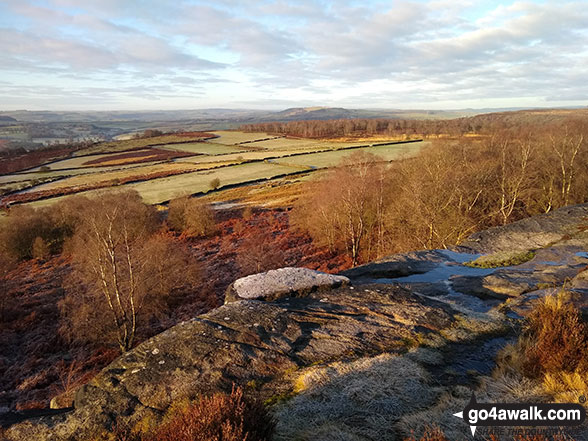 The view from Birchen Edge