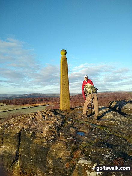 Nelson's Monument on Birchen Edge