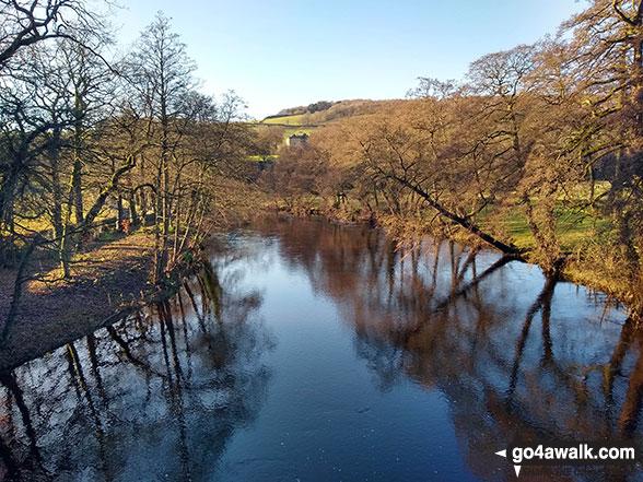 The River Derwent from Froggatt Bridge