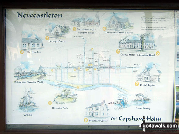 The varied attractions of Newcastleton or Copshaw Holm