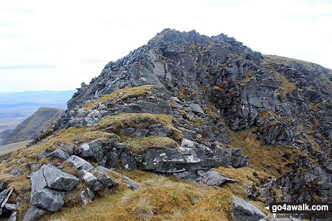 The north ridge of Ben Hope