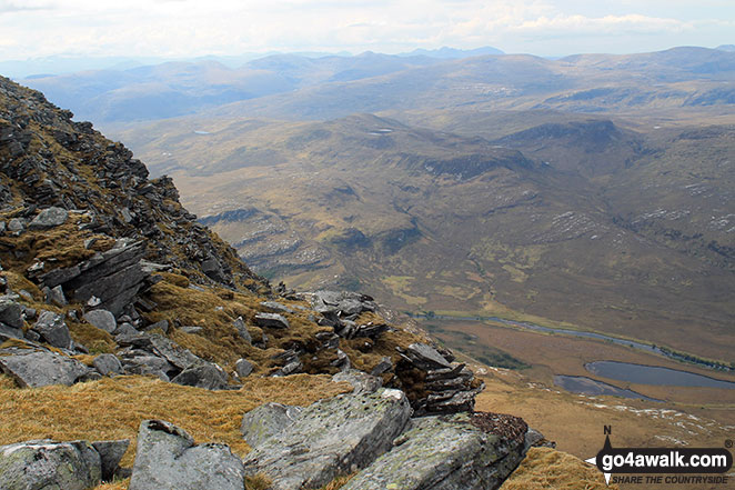 View from the north ridge of Ben Hope