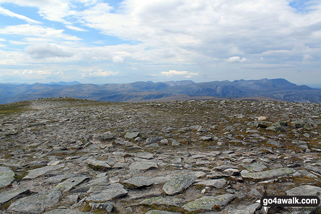 The view from the summit of Ben Hope