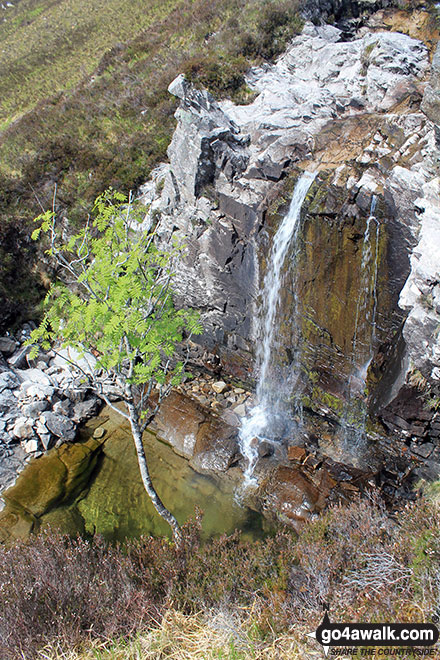 Waterfalls on the lower slopes of Ben Hope