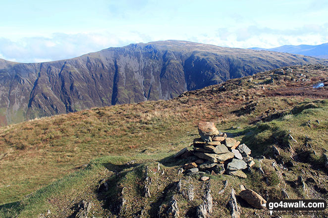 Dale Head (Newlands) from Fleetwith Pike summit