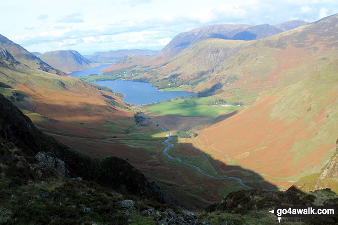 Crummock Water and Buttermere from Green Crag (Buttermere)