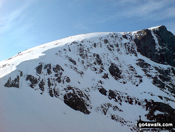 Ben Nevis from The Carn Mor Dearg arete