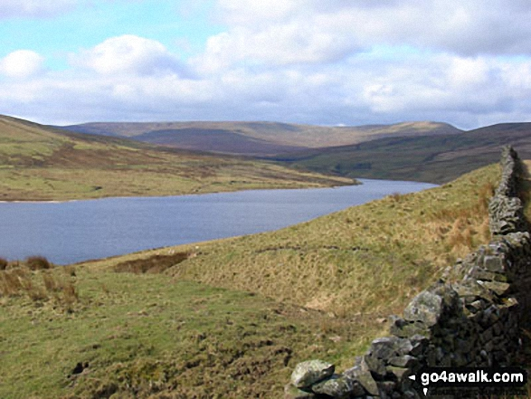 Great Whernside from Scar House Reservoir