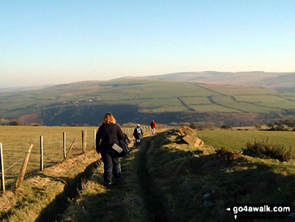 Heading South from Carn Edward in the Preseli Hills