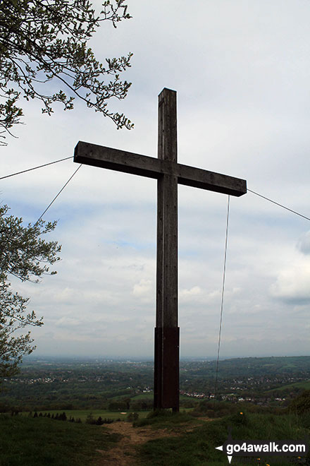 Large cross on Cobden Edge