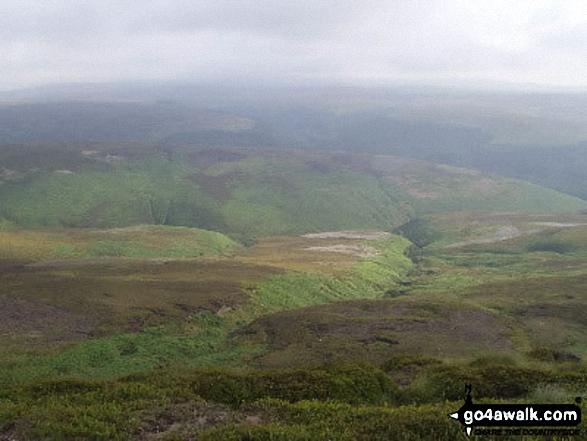 Black Ashop Moor from Seal Edge