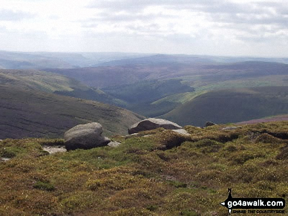 Derwent Valley from Bleaklow Stones (Bleaklow Hill)