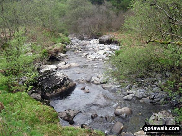 Afon Cwm Penamnen near Dolwyddelan